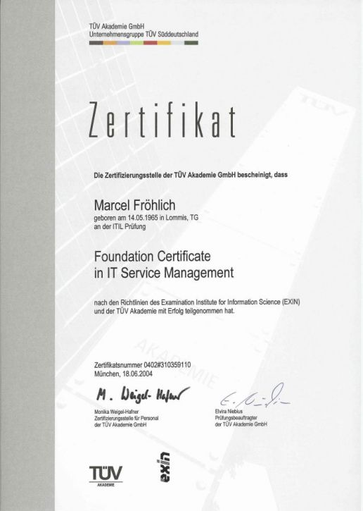 itil foundation certification dumps pdf